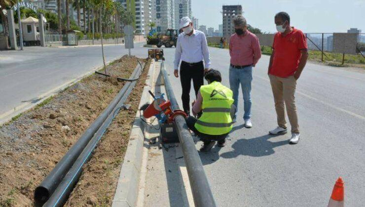 Mersin Büyükşehir'den Çevrenin Korunması ve Su Tasarrufu İçin Örnek Çalışma