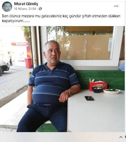 """Mersin Mut'ta Esnaf İntihar Etti! """"Kaç Gündür Siftah Etmeden Dükkan Kapatıyorum"""" 3 - mersin mutta esnaf intihar etti kac gundur siftah etmeden dukkan kapatiyorum 3"""