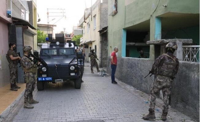 Mersin'de Dahil 8 İlde Büyük Mafya Operasyonu