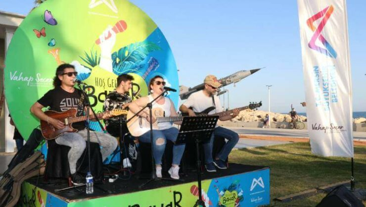 Mersinliler'e Açık Havada Konser Keyfi
