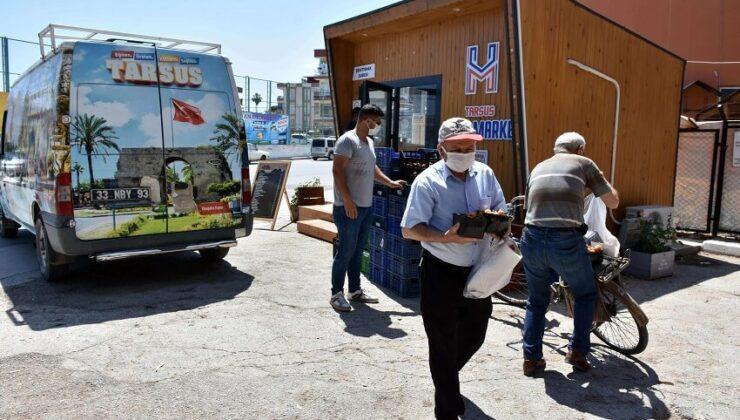 Tarsus Belediyesi, Vatandaşlara Ücretsiz Yenidünya Dağıttı