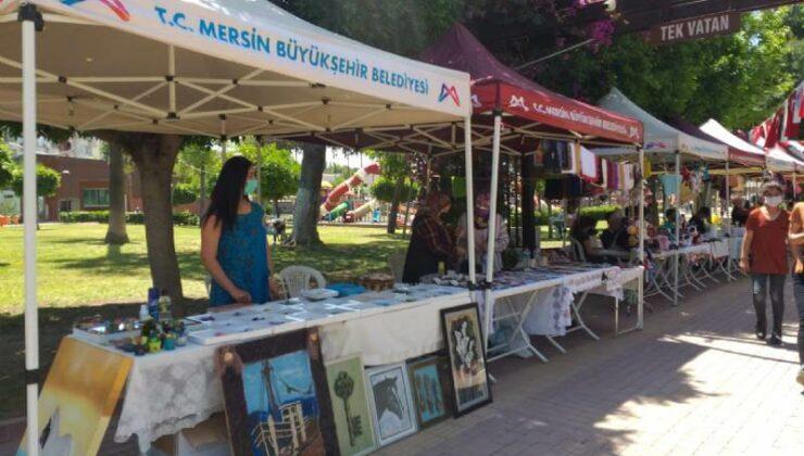 Tarsus'ta Bir Kez Daha Üretici Kadın Stantları Kuruldu 2 - tarsusta bir kez daha uretici kadin stantlari kuruldu 2
