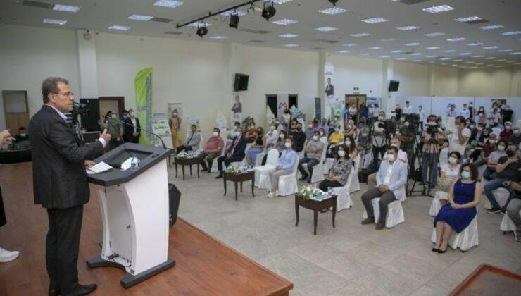 Başkan Vahap Seçer Çevre Etkinliğinde Çevre Projelerini Anlattı