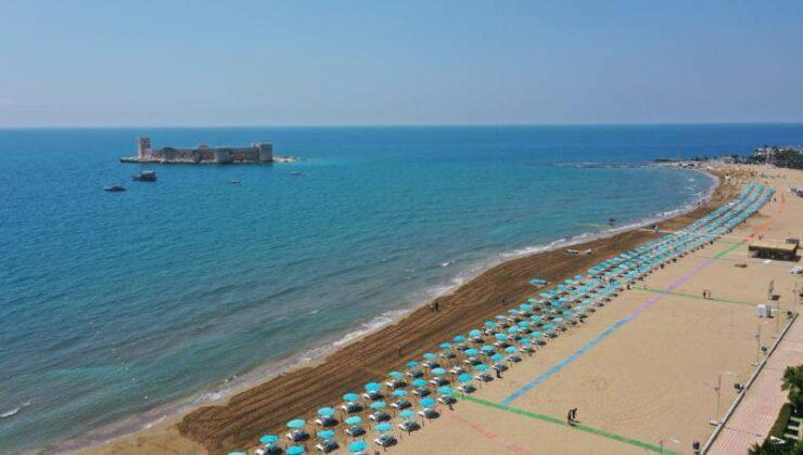 Kızkalesi Halk Plajı Mavi Bayrak Aldı