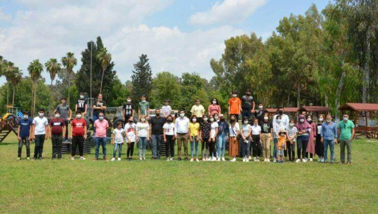 Mersin Büyükşehir Yenice Kurs Merkezi Öğrencileri LGS Öncesi Stres Attı