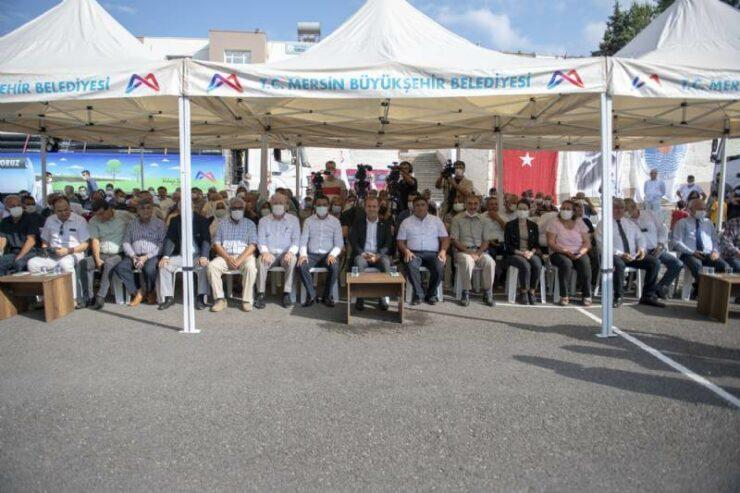 Mersin Büyükşehir'den Üreticiye Sulama Borusu Desteği 3 - mersin buyuksehirden ureticiye sulama borusu destegi
