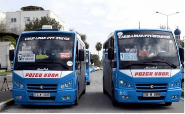 Mersin'de Dolmuş Ücretlerine Zam Geldi! Mersin Dolmuş Ücretleri 2021