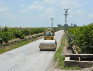 Mersin Büyükşehir'den Grup Yollarında Hummalı Çalışmalar Devam Ediyor