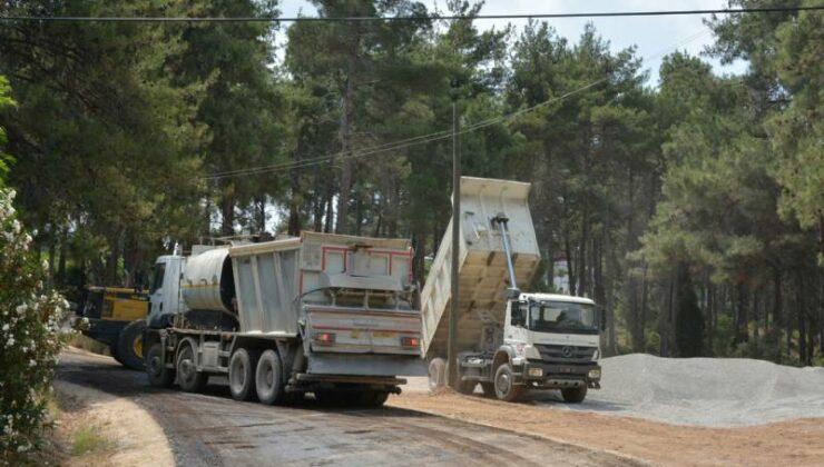 Mersin Büyükşehir'den Tarsus'un Yüksek Kesimlerinde Yol Çalışması