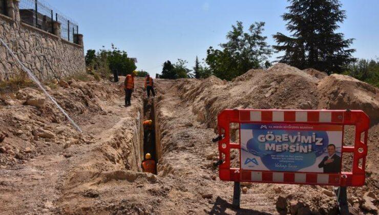 MESKİ'nin Toroslar'da 1. Etap Kanalizasyon Çalışmalarına Başladı
