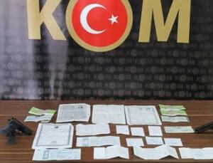 Mersin'de Tefeci Operasyonu: 16 Gözaltı
